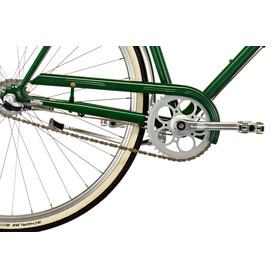 Creme Caferacer Uno Citybike 3-speed grøn